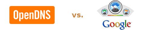 OpenDNS vs. Google Public DNS